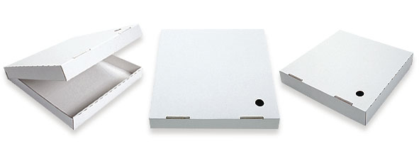 O'Kelly | White Pizza Box 280mm 11 inch Double Fold